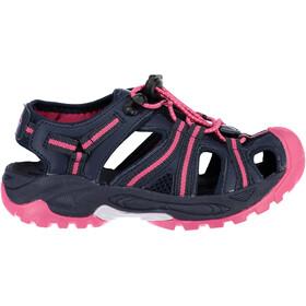 CMP Campagnolo Aquarii Hiking Sandals Kids Black Blue-Corallo